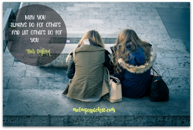 Melanie S. Pickett, help others