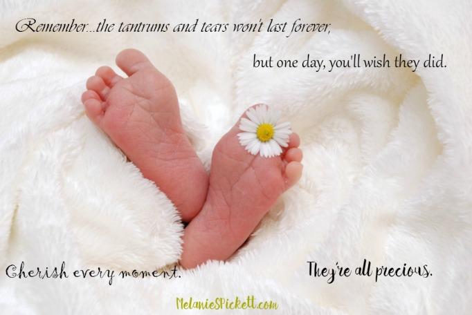 Melanie S. Pickett, baby