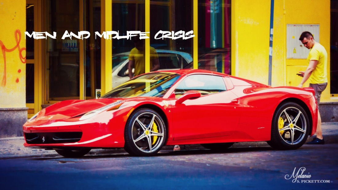 Men and Midlife Crisis, red sports car