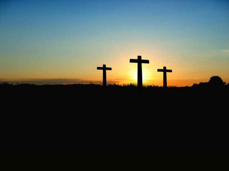 cross-sunset-sunrise-hill-70847