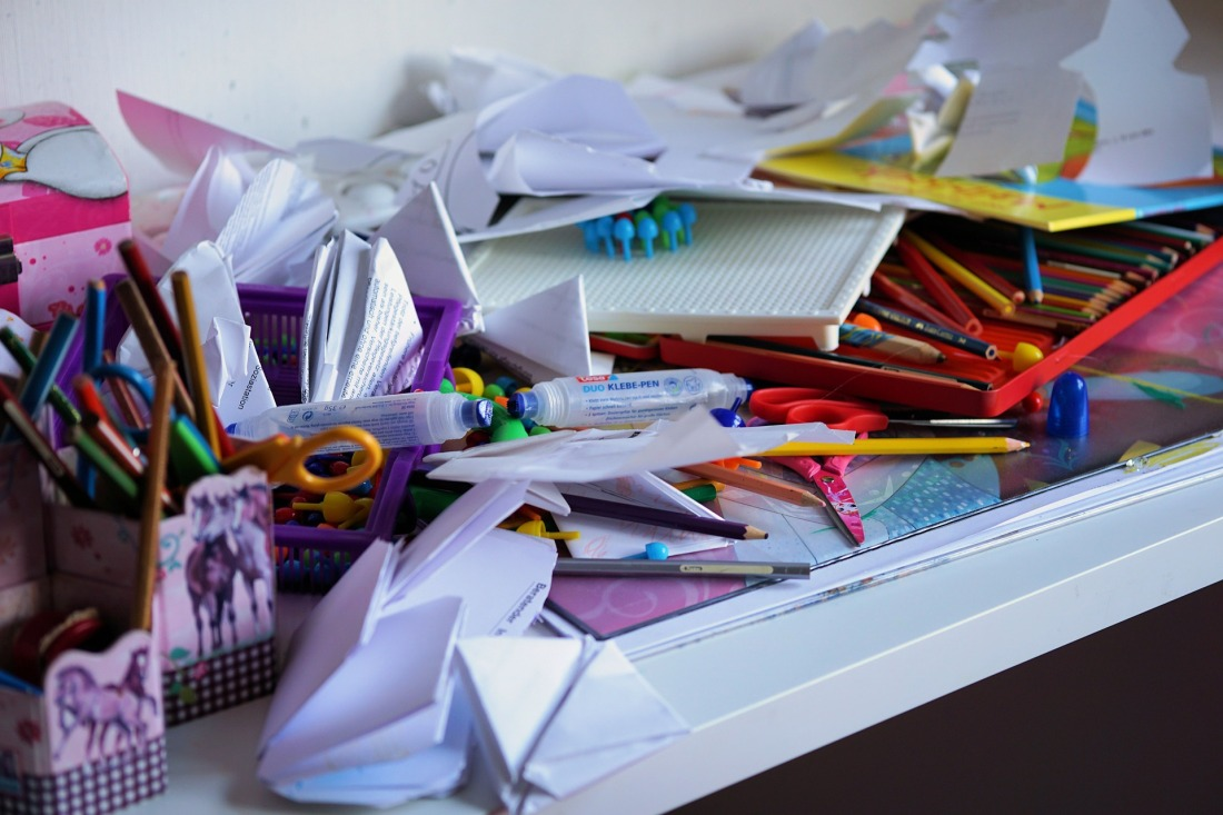 disorganization and clutter can take a toll on mental health